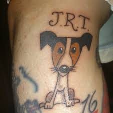 simple calf tattoos love this simple jack russell tattoo tattoo u0027s pinterest