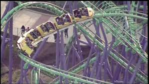 Six Flags Pg County Six Flags Roller Coaster Stuck With Dozens Of Riders On Board