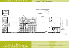 2 bedroom home floor plans single wide mobile home floor plans bedroom cavco homes uber
