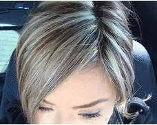 highlights and lowlights for graying hair the 25 best grey hair with brown highlights ideas on pinterest