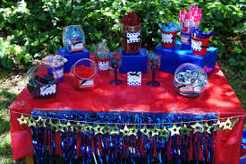 Candy Buffet Table Ideas Spiderman Birthday Party Ideas Photo 1 Of 12 Catch My Party