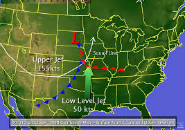 Weather Map Of Usa by Kansas City Flash Flood Of October 4 1998