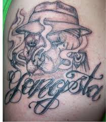 best tattoos for gangster designs