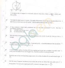 Std 2 Maths Worksheets Cbse Class 10 Sa2 Question Paper U2013 Maths Aglasem Schools