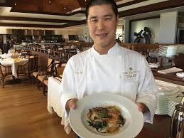 chef de cuisine chef menu flavors at hōkū s biting commentary