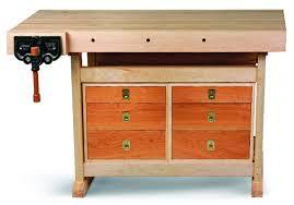 not so big workbench by ed pirnik woodworking workbench