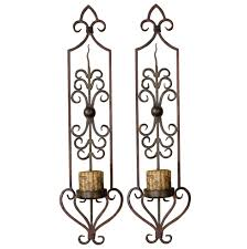 Uttermost Wall Sconces Gorgeous 60 Metal Wall Sconces Design Decoration Of Wrought Iron