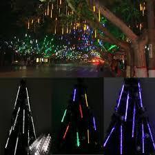 outdoor string lights rain outdoor 30cm 50cm 80cm meteor shower rain led string light christmas