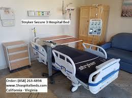 Stryker Frame Bed Stryker Secure 3 Bed Hospital Beds
