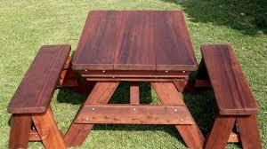 excellent top 25 best wooden picnic tables ideas on pinterest kids