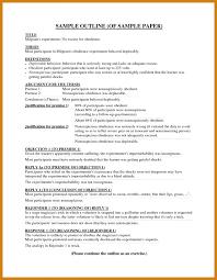 format for essay outline sle essay outline letter format template