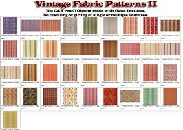 Fabric Shabby Chic by Second Life Marketplace Shabby Chic Vintage Fabric Patterns Ii