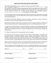 Non Disclosure Statement Template by Standard Confidentiality Agreement Standard Confidentiality
