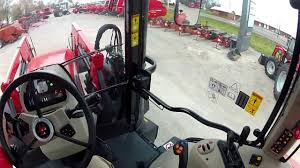 massey ferguson 6600 series mid range tractor part 2 driving