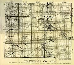 Maps Of Michigan The Indians Of Washtenaw County Michigan Map Ann Arbor District