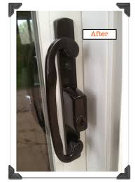sliding glass door handle and lock sliding glass door hardware update your style for less than 23