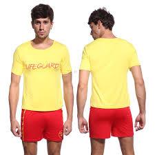 ladies halloween t shirts mens ladies costume lifeguard baywatch beach patrol fancy dress t