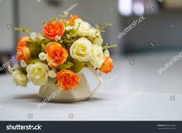 Flowers In A Vase Images Fake Mock Bouquet Flowers Vase On Stock Photo 685321930 Shutterstock