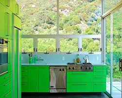 kitchen fancy u shape kitchen decoration with light green kitchen
