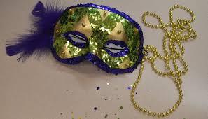 mardis gras mask glitzy mardi gras mask craft ideas