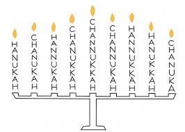 simple menorah simple handmade hanukkah greeting cards family net guide