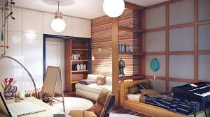 bedrooms cool kids bedroom with striped wall and massive bulb