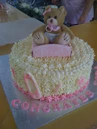 photo religious baby shower cake image