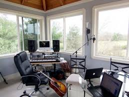 awesome functional home recording studio design victoria homes