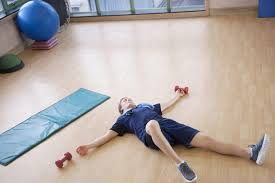 light headed after exercise what does it mean when you almost pass out after heavy exercise