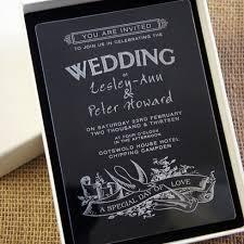acrylic wedding invitations camdeco acrylic wedding invitation swallows design