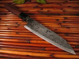 forged japanese kitchen knives takeda banno petit 15cm fort henry custom knivesfort henry