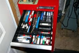 rare vintage craftsman side cabinet 6 drawer chest storage tool