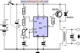 transcutaneous electrical nerve stimulator tens circuit diagram