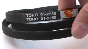 how to replace the drive belt on a toro walk behind lawn mower