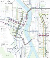 portland light rail map maps and schedules for trimet buses max and wes