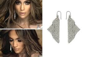 jlo earrings s on the floor earrings zimbio s jingle rockin