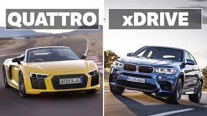 lexus atc vs audi quattro vs acura sh awd the differences between audi quattro and bmw xdrive video
