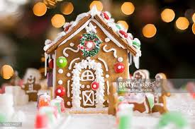 Gingerbread House Decoration Gingerbread House Stock Photos And Pictures Getty Images
