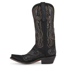 brown leather motorcycle boots women u0027s lucchese black hair on cow boots m5008