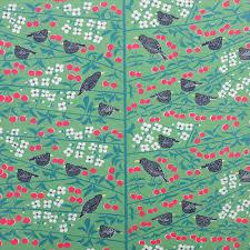 almedahls fabric swedish fabric cherry garden fabric kitchen