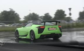 lexus green lexus lfa ad b bright green model revealed in autoguide