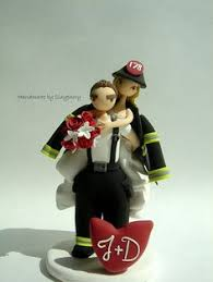 firefighter cake toppers fighter wedding cake topper firefighter wedding cake