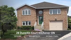 for sale 28 dunedin crt kitchener on youtube