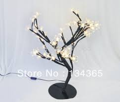 led tree light 3w rrubber petals 48 warm white led light modern led
