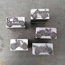 timey cars card pinwheel press