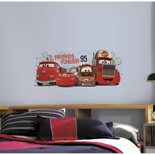 roommates cars 2 friends to the finish peel and stick giant wall roommates cars 2 friends to the finish peel and stick giant wall decals amazon ca tools home improvement