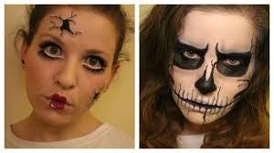 creepy cracked doll cracked skull last minute halloween sfx