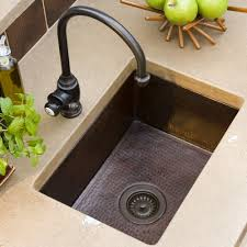 Cocina  Copper Kitchen Sink Native Trails - Small sink kitchen