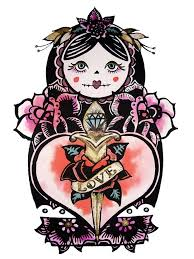 29 best tatuaje de muñeca rusa images on pinterest russian doll