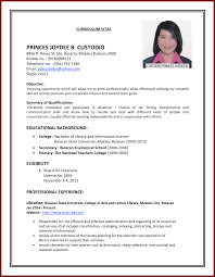 Resume For Teenagers 15 Cv Template Student First Job Sendletters Info